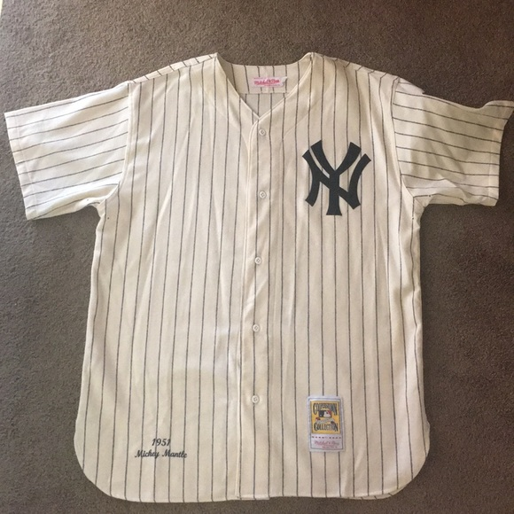 finest selection cb66c 5799d Mickey Mantle Jersey Size 48 (XL-XXL)